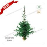 H90-125cm mayorista Hierba personalizada del regalo del árbol de Navidad Craft