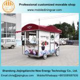 Chariot de nourriture de quatre roues/nourriture Van avec du ce à vendre
