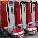 De automatische Verpakkende Machine van de Rek van de Film van de Omslag van de Bagage van de Luchthaven