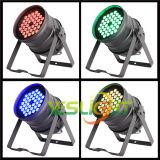 Het Draadloze LEIDENE DMX PARI van het Stadium kan 36PCS*3W RGB 3in1 Edison LEDs door Facotry aansteken