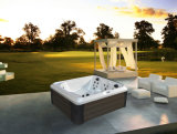 독립 구조로 서있는 Jacuzzi 옥외 좋은 품질 소용돌이 온수 욕조 온천장 (M-3395)