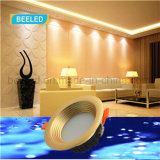 Do diodo emissor de luz do projeto branco puro claro da luz de teto 5W para baixo diodo emissor de luz comercial Downlight
