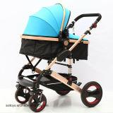 Liga de alumínio carrinho de bebé Bebé Pram transportadora do bebé