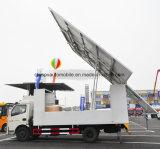 LED 성과 스크린을%s 가진 Dongfeng 4X2 야외 무대 승진 트럭