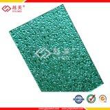 feuille de dépliement de polycarbonate gravée en relief par diamant de 3mm pour des matériaux de construction