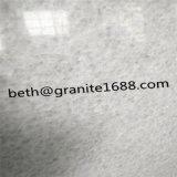 Mattonelle di marmo bianche di cristallo architettoniche interne della pietra decorativa