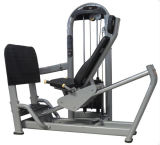 Indoor Body Building Fitness máquina de imprensa de perna horizontal