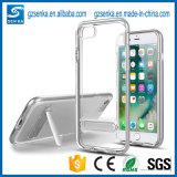Transparenter TPU Kasten des China-Hersteller-mit Standplatz für iPhone 6