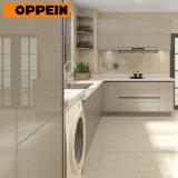Grijze Lak 2 van de Stijl van Oppein polijst Moderne Hoge Kwaliteit PAC Keukenkasten (OP18-L02)