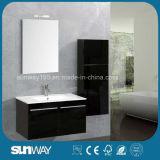 Vanità della stanza da bagno del MDF di vendita di caduta moderna calda della parete doppia con il dispersore