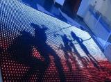 Innendes stadiums-Licht-P5cm LED videovorhang Anblick-Vorhang-des Hintergrund-LED für Ereignisse
