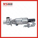 Vannes de position pneumatique à assainissement en acier inoxydable