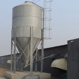 Câbles d'alimentation et buveurs en acier de poulet de silo pour le système d'alimentation principale