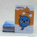 Cartão de PVC de tamanho padrão com impressão personalizada