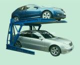 Levage hydraulique de stationnement de véhicule de poste deux de garage à la maison avec l'inclinaison