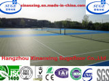10 Jahre des Lebenpp., das Tennis-den modularen Sport-Fußboden sperrt