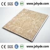 потолок PVC ширины 20/25cm для украшения обшивает панелями материал здания водоустойчивый (печатание/горячий штемпелевать/слоение, SGS)
