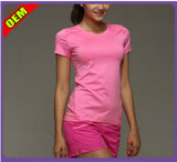 La mode Sexy T-shirt imprimé pour les femmes (W183)