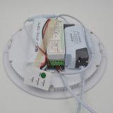 12W delgado de emergencia LED Panel con el corte 160 de 150 mm con 1,5 horas en 50% de potencia