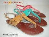 Pu Dame Fashion Sandal (S279F-100)