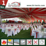 Шатёр 25 x 70m для 1500 усаживая напольных шатров случая шатра согласия с ясной крышей