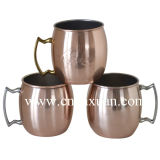 De 16 onzas de cobre sólido Moscú Mule Mug Dn-903A