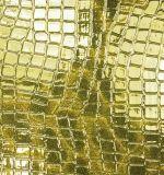 Plutônio Synthetic Leather de Grain do crocodilo para Bag