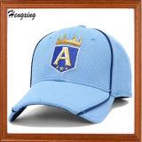 Шлем бейсбола сетки Snapback Brim изготовленный на заказ вскользь отдыха голубой