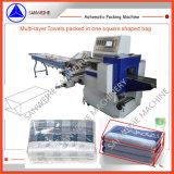 Multi-lagen of de Gestapelde Machine van de Verpakking van Handdoeken