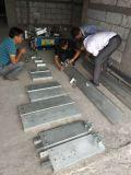 Robusteza automática de la pared del edificio de la construcción que enyesa y que rinde la máquina