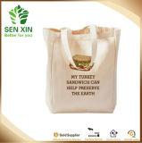 Segeltuch-Baumwollnatürlicher Käufer-Schultertote-Beutel