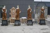 Мраморный скульптура 4 красоток сезона