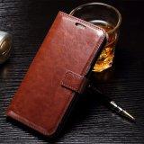для Flip бумажника PU случая телефона iPhone 6 кожаный, iPhone 6 аргументы за сотового телефона