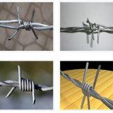 逆転させるか、または肯定的なねじれのとげがある鉄ワイヤー