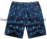 4 Shorts da placa da tela da maneira, Shorts impressos da praia do projeto para o homem