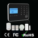 Système d'alarme intelligent sans fil de 3G GM/M avec l'écran tactile et l'exécution de $$etAPP