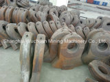 Manganese Casting Liners per Shredder Recycling
