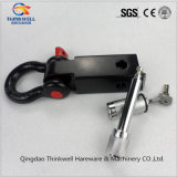 Receptor de engate com D-Ring Shackle Hitch Receiver