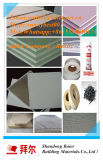 El papel caliente de la venta 2017 hizo frente a la mampostería seca de la tarjeta/del cartón yeso de yeso del yeso