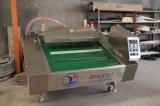 Type de chaîne d'étanchéité emballage sous vide de la machine pour les fruits de mer / la viande salée / Poisson séché / / la viande de boeuf porc Dz-1000