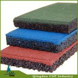 工場価格の卸売の運動場のスポーツのゴム製床のマットのタイル