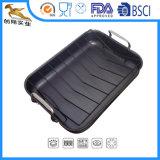 С Roaster Non-Stick Hard-Anodized площади для установки в стойку (CX-SR0202)