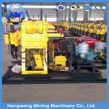 machine diesel de plate-forme de forage de puits d'eau de pouvoir de profondeur de 200m