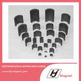 Подгонянный высоким качеством магнит феррита дуги постоянный для моторов