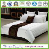600tc blanco 100% algodón banda Hotel Queen la ropa de cama hoja Establece