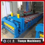 El azulejo del paso de progresión del material para techos lamina la formación de la máquina