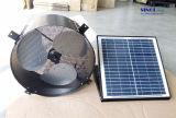 30W 14 pulgadas Axial Solar Ventilador del ático de Pared con aletas de aluminio y de CC sin escobillas del motor (SN2015004)