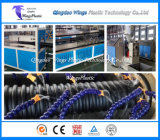 HDPE 나선 물결 모양 케이블 관 생산 라인/압출기 기계