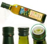 500ml rectângulo verde vaso de azeite, óleo comestível garrafas de vidro
