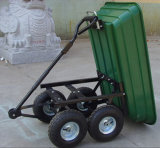 Quatro Big Wheel Garden Tipping Cart (Tc4701)